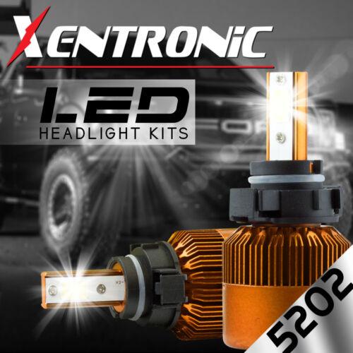 XENTRONIC LED HID 6000K Foglight kit 5202 12086 H16 Chevrolet Suburban 2014-2014