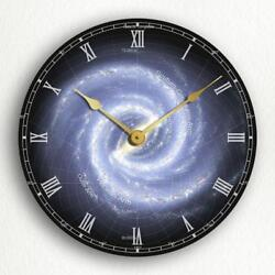 Milky Way Galaxy Outer Space 12 Silent Wall Clock