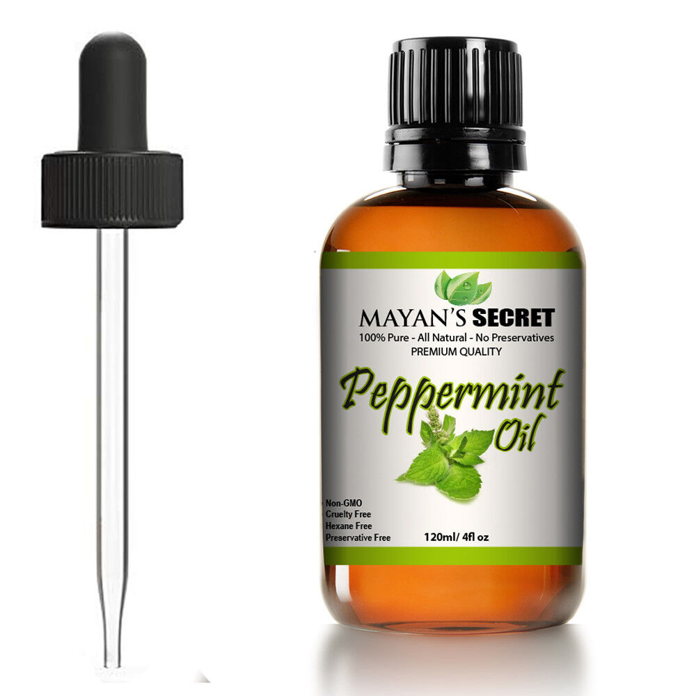 Peppermint Essential Oil 100% Pure Virgin, Therapeutic Grade Peppermint Oil Aromatherapy