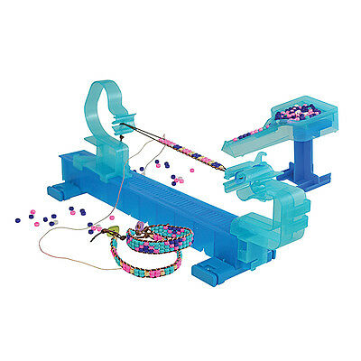 Wrapit Beading Loom Craft Kit, Includes Beads, Nylon Cord & Instructions