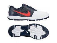 Brand New Men's Size 8.5 Nike Explorer Lea Golf Shoes