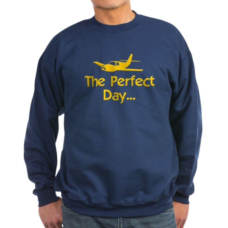 CafePress Airplane Flying Classic Crew Neck Sweatshirt (558106759)
