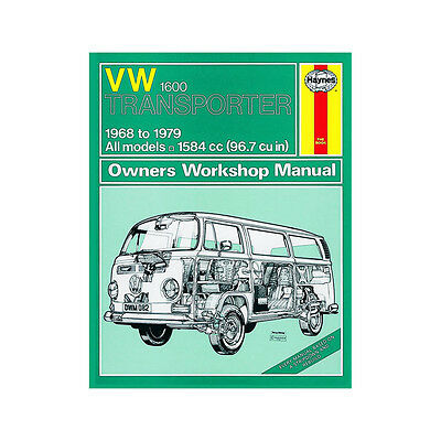VW Transporter 1600 1.6 Petrol 1968-79 (up to V Reg) Haynes Manual