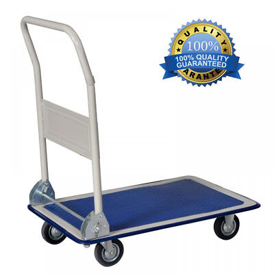 Platform Cart Dolly Folding Foldable Moving Warehouse Push Hand Truck - 330lbs