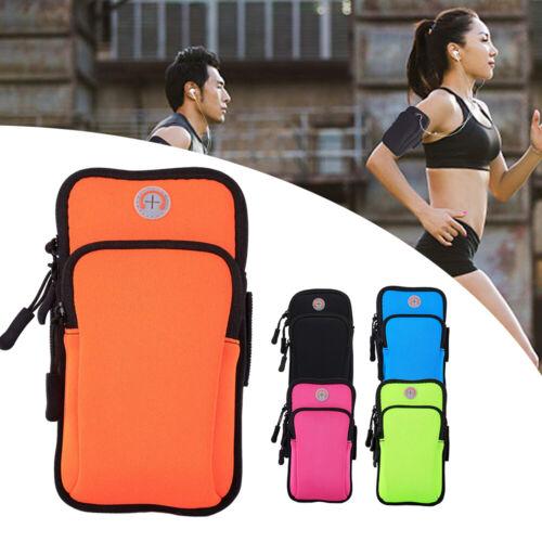 Armtasche Handy Sport Fahrrad Laufen Joggen Fitness Armband Bag Hülle Tasche DE