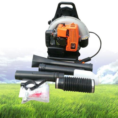 65cc 2-Stroke Gasoline Leaf Blower Vacuum Gas Powered Backpa