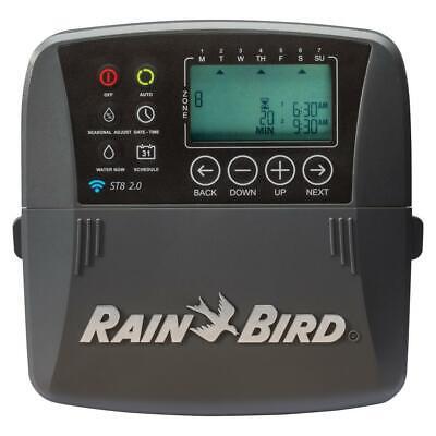 Rain Bird Irrigation Timer Controller Watering Programmable 8 Zone Smart WiFi