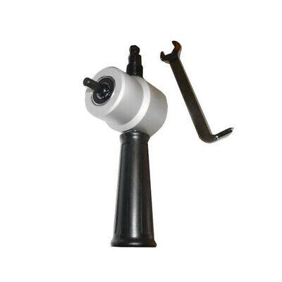 Sheet Metal Nibbler Cutter Drill Attachment 360 Degree