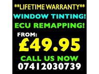 **FROM £49.95** CAR WINDOW TINTING, ECU REMAPPING, DPF & EGR DELETE!