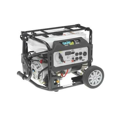 Quipall 5250-w 7 Hp Portable Dual Fuel Gas Generator With Electric Start Home Rv