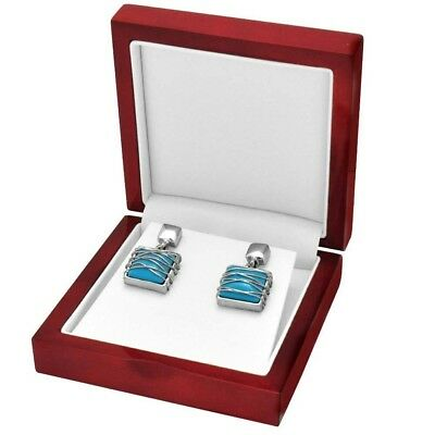 12 Rosewood Large Earring Or Pendant With Chain Packaging Display Gift Boxes