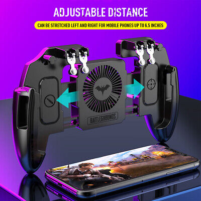 Mobile Phone Gamepad Controller Joystick Cooling Fan for PUBG Game IOS & Android