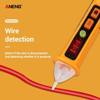 Ac 12-1000v Non Contact Voltage Tester Pen Electrical Detector Meter Pencil