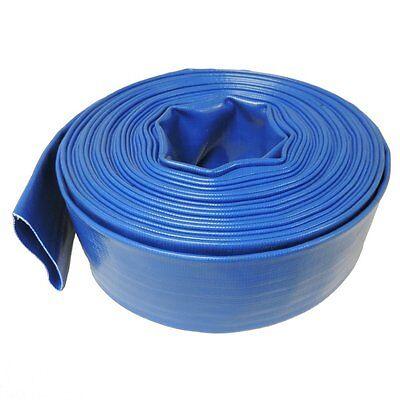 2 X 50 Agricultural Grade Pvc Layflat Hose For Water Discharge Or Backwash