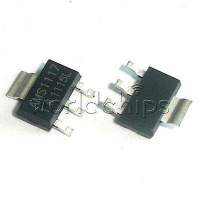20pcs Ams1117-1.8 Ams1117 Lm1117 1.8v 1a Sot-223 Voltage Regulator W
