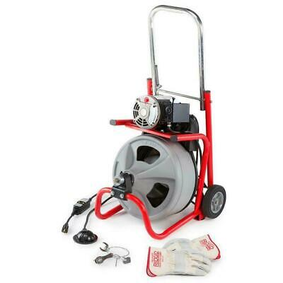 Ridgid 52363 K-400 38x75 Cable 120v 60hz Drain Cleaning Drum Machine Brand New