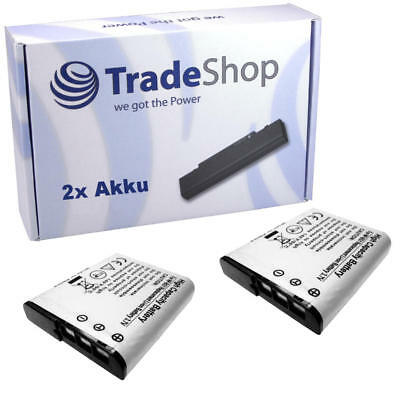 2x AKKU für Sony Cybershot DSC-W125 DSC-W130B DSC-W130P DSC-W130S online kaufen
