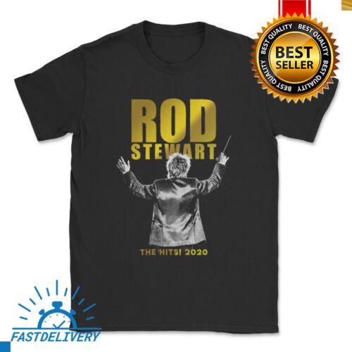 RARE!! Rod Stewart The Hits Tour 2020 Rock 2 SIDE T Shirt SIZE S-5XL