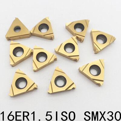 16er1.5iso Smx30 Carbide External Thread Insertt For Stainless Steel 20p