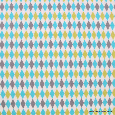 Lagoon Mini Harlequin Breeze for Michael Miller, 1/2 yard 100% cotton fabric (Harlequin Costume For Kids)