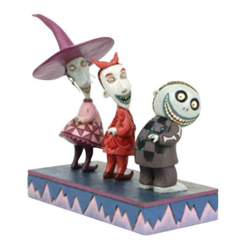 Jim Shore Disney LOCK SHOCK & BARREL Nightmare Before Christmas Figurine 6008993