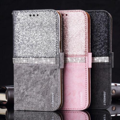 Klapphülle Handy Schale Schutz Tasche Etui Case Für iPhone Samsung Galaxy HUAWEI