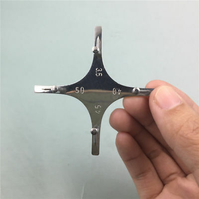 1x Dental Lab Instruments Orthodontic Metal Brackets Boone Gauge Positioner