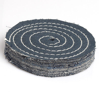 8 Inch Denim Buffing Polishing Wheel Buffer Polish Wheel New Thickness 40mm 1pc