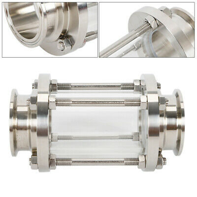 2 Flow Sanitary Sight Glass Stainless Steel 304 Dn25-dn100 Tri-clamp Food Grade