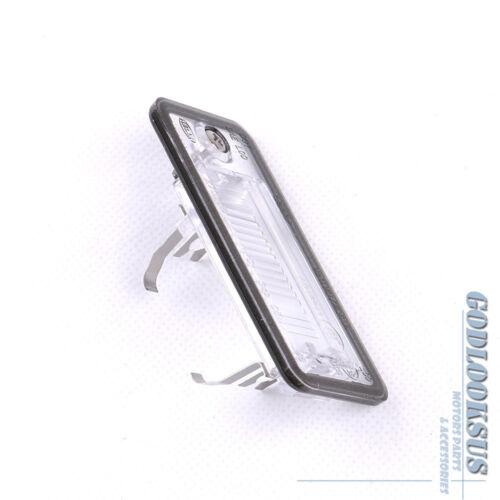 Pair L /& R License Plate Light For Audi A3 A4 B6 B7 A5 A6 C6 A8 D3 Q7 RS4 New