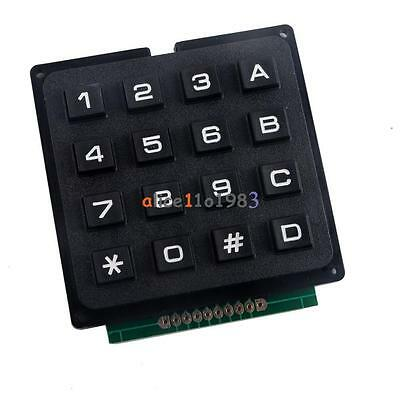 4 X 4 Matrix Array 16 Keys 44 Switch Keypad Keyboard Module For Arduino