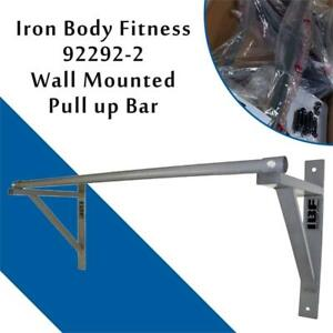NEW Iron Body 92292-2 Wall Mounted Pull up Bar Condtion: New