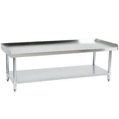 Cmi Commercial Stainless Steel Equipment Grill Stand With Undershelf 24x60