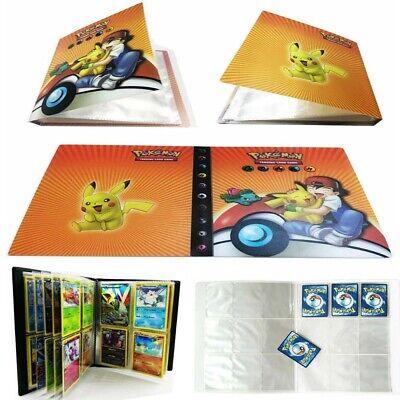 US Pokemon Card Binder Portfolio Pocket Album Card Portfolio 240 Holder Cards
