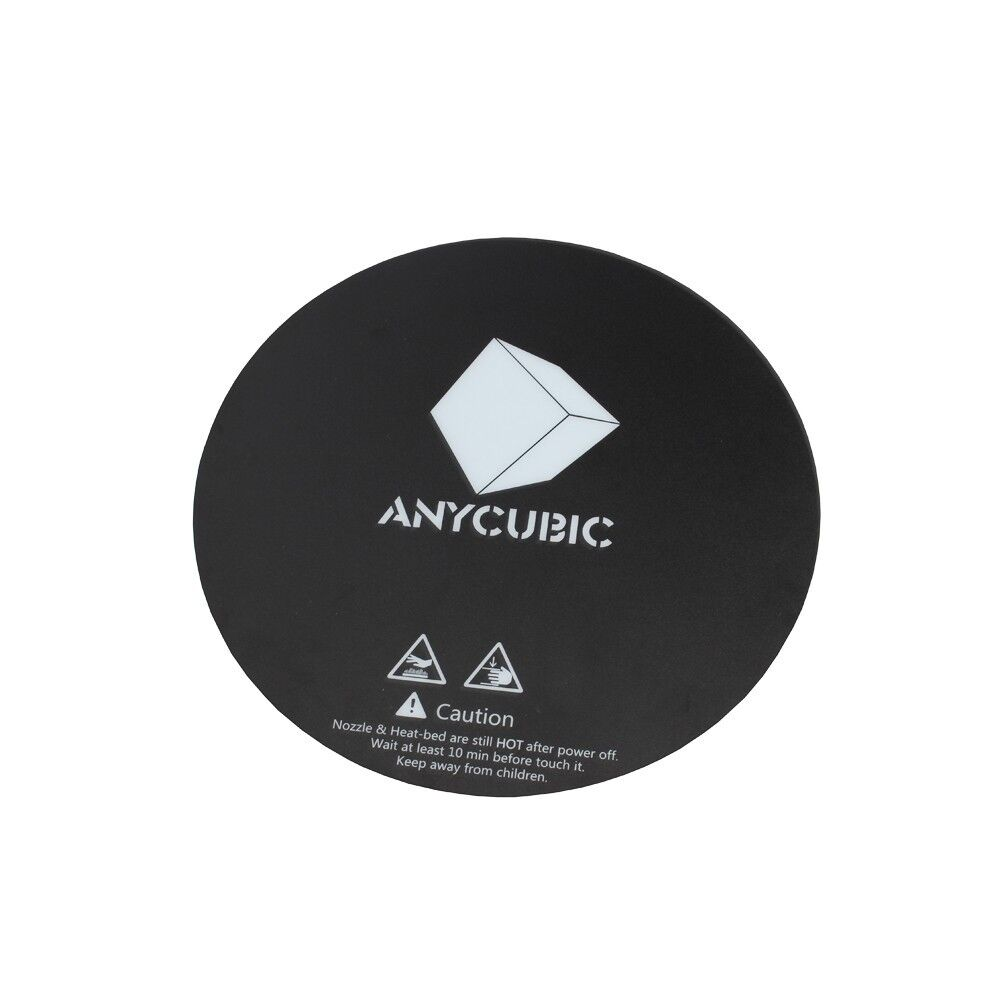 Anycubic 3D Printer 200mm Heated Bed Sticker with Tape Round Print Plate Tape