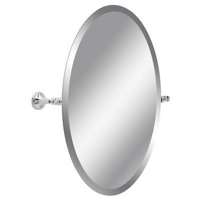 Delta Silverton 26 in. H x 22 in. W Single Wall Mirror in Chrome