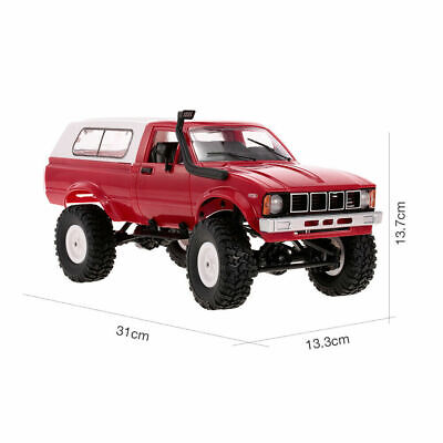 WPL C24 Remote Control RC Racing Truck 4WD Off-Road Crawler Pick-Up Red