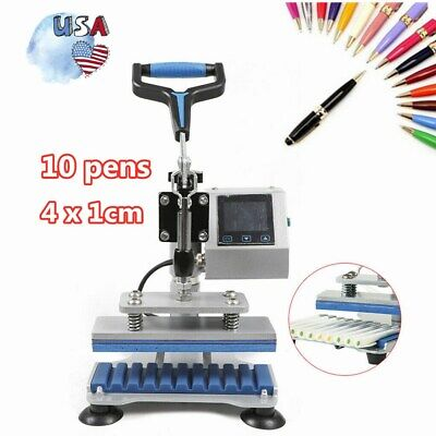 3d Sublimation Heat Press Printer Transfer Machine For 10 Ballpoint Pen 200w