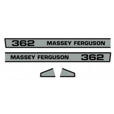 Hood Decal Set Fits Massey Ferguson 362 Mf Tractor New Aftermarket Replacement