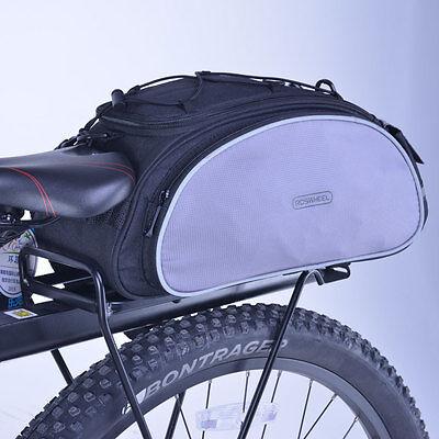 Rear Rack Bag - Bicycle Bike Seat Shoulder Bag Rear Tail Rack Pannier Cycling Handbag Pack