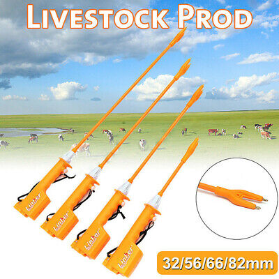 Electric Livestock Cattle Cow Pig Prod Electric Shock Prodder Swine Detection Us