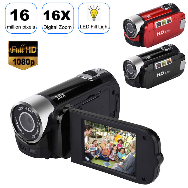 4K HD Night Vision Digital Camera 1080P WiFi DVR Video Camco