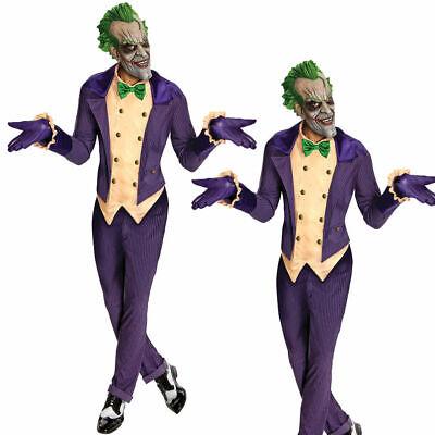 Herren Erwachsene der Joker Batman Arkham City Kostüm Herren Kostüm - Arkham City Joker Kostüm