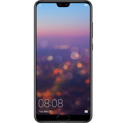 HUAWEI P20 PRO MONO SIM 4G 128GB黑色40 MPX ANDROID 8.1 ITA 24 MONTHS品牌