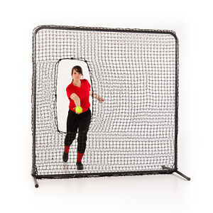 SOFTBALL-BASEBALL-PITCHING-SCREEN-W-FRAME-66-x-66