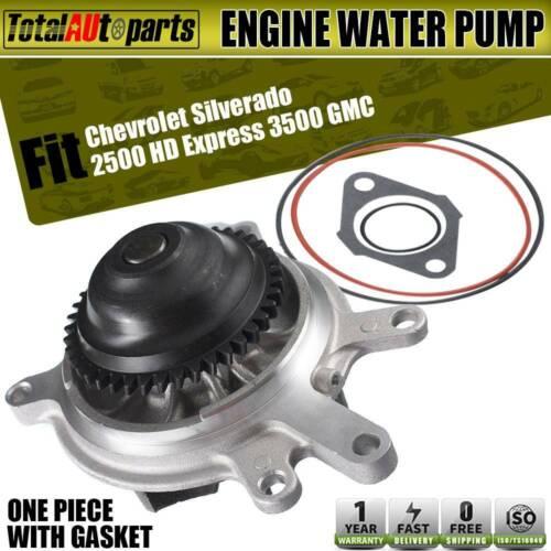 Gas Engine Water Pump For Chevrolet Express Silverado1500 2500 3500 4500 New