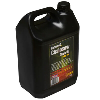 5 Litres Of Chainsaw Saw Chain Oil For Guide Bar Oil Pump For All Makes Of Saws