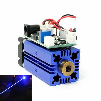 1.5w 1500mw 445nm 447nm 450nm Blue Laser Diode Module 12v Ttl Fan Cooling