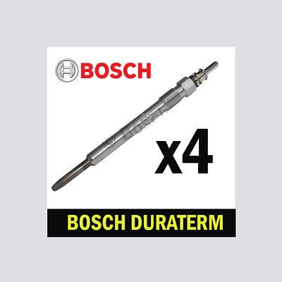 4x Bosch Glow Plugs for HYUNDAI i30 1.6 CRDi D4FB D4FB-5P
