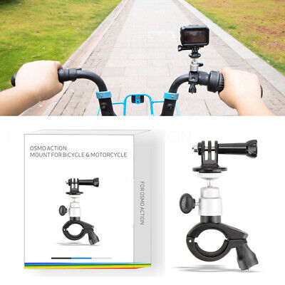 For DJI OSMO Action Sprots Cam Bicycle Mount Clamp Holder Stand Bracket Aluminum